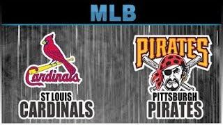 Stratomatic Computer Baseball Opening Day 2016 St Louis Cardinals vs Pittsburgh Pirates