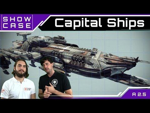 Star Citizen Capital Ships - Großkampfschiffe   Showcase [Deutsch/German]
