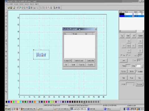 LaserCut 5.3 Software Tutorial Part7 (English) thumbnail