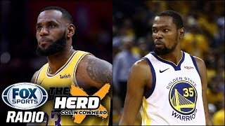 Colin Cowherd - LeBron James Has Great Influence on Kevin Durant