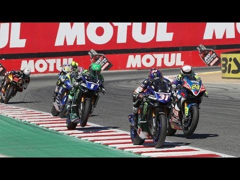 EBC Brakes Superbike Race 1 Highlights at Laguna Seca