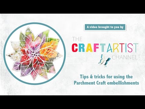 CraftArtist Parchment Craft digikits - tips & tricks