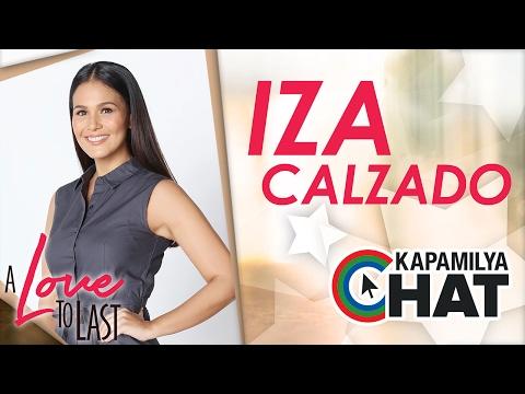 Kapamilya Chat with Iza Calzado for A Love To Last
