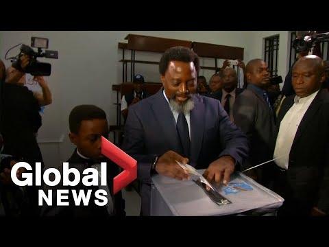 Kabila, Fayulu cast their vote as Democratic Republic of Congo heads to the polls