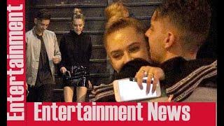 Delilah Hamlin hugs mystery man in LA  || Scandals