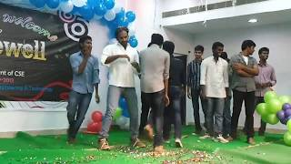 Video   Giet    College   Farewell    Party Sandeep Dance download MP3, 3GP, MP4, WEBM, AVI, FLV Oktober 2018