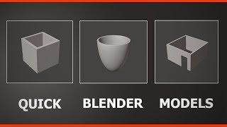 Blender 2.8 Quick Modeling Beginner Tips