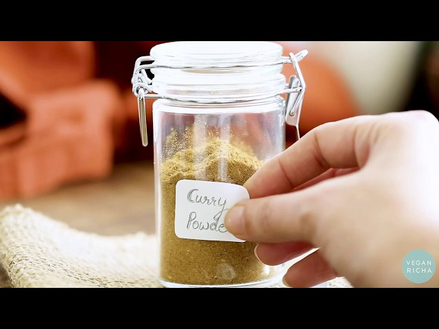 CURRY POWDER and GARAM MASALA | Vegan Richa Recipes