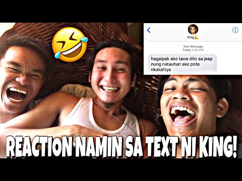 REACTION NAMIN SA TEXT NI KING! (Buko Pae)