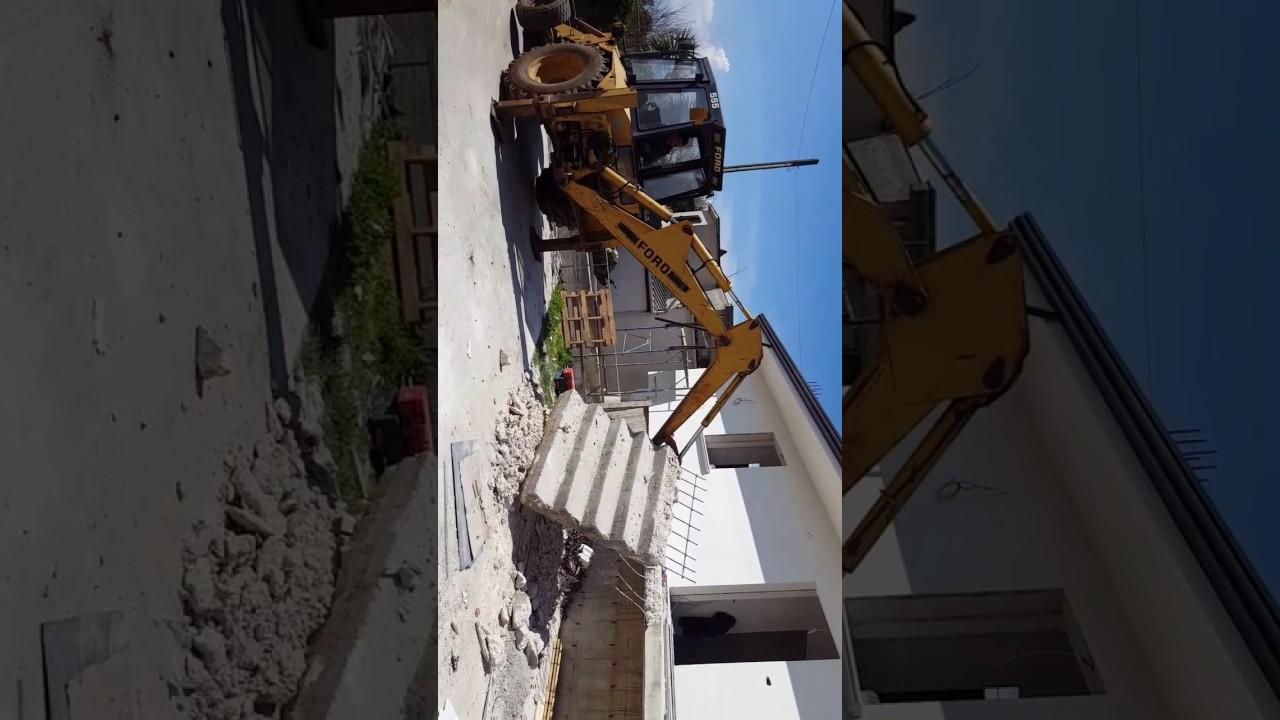 Demolizione Scala In Cemento Armato demolizione scala - youtube