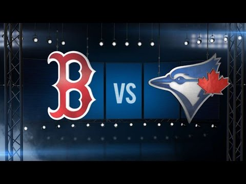 9/11/16: Three Homers Power Red Sox Over Blue Jays