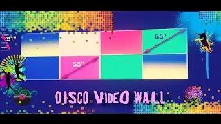 Удивительный ТВ с диагональю 200 дюймов! / Amazing Disco Video Wall Display 200 inches