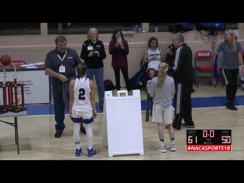 2018 NACA Div 2 Girls Championship - Comenius (SC) v. The Rock (FL)