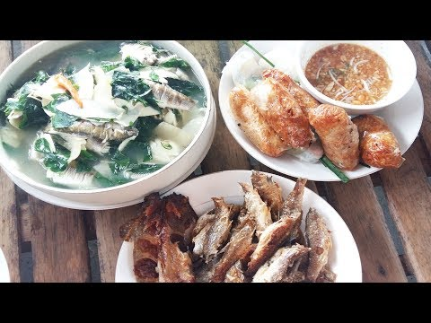 Small Fish Recipe – Deep Fried Fish And Bamboo Shoot Fish Soup