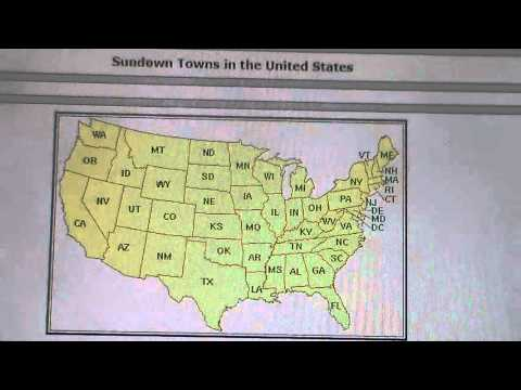 Sundown Towns In The United States