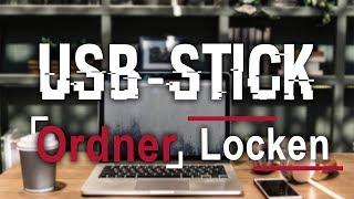 USB-Stick Ordner verschlüsseln mit Passwort ohne extra programm   Tutorial
