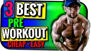BEST Pre Workout Supplement for Fat Loss and Muscle Gain | Cheap + Easy DIY