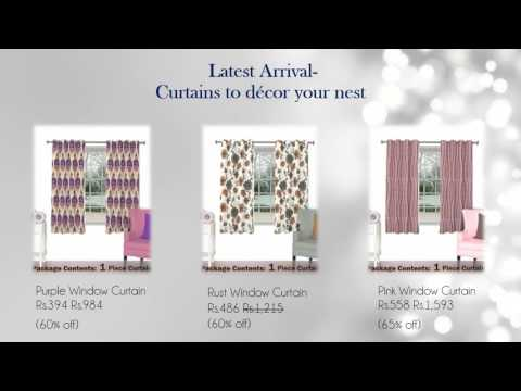 Collection of Readymade Curtains at Skipper Home Fashions