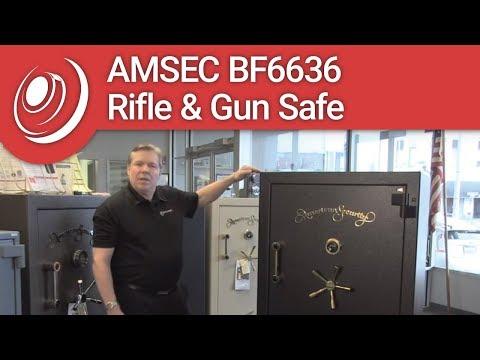 AMSEC BF6636 Rifle & Gun Safe with Dye the Safe Guy