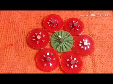 Old bangle reuse Idea ---Bangle wall hanging --Best out of waste- DIY