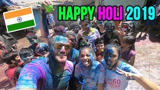 HOLI 2019 in Mumbai | Most AMAZING and COLORFUL time of our life