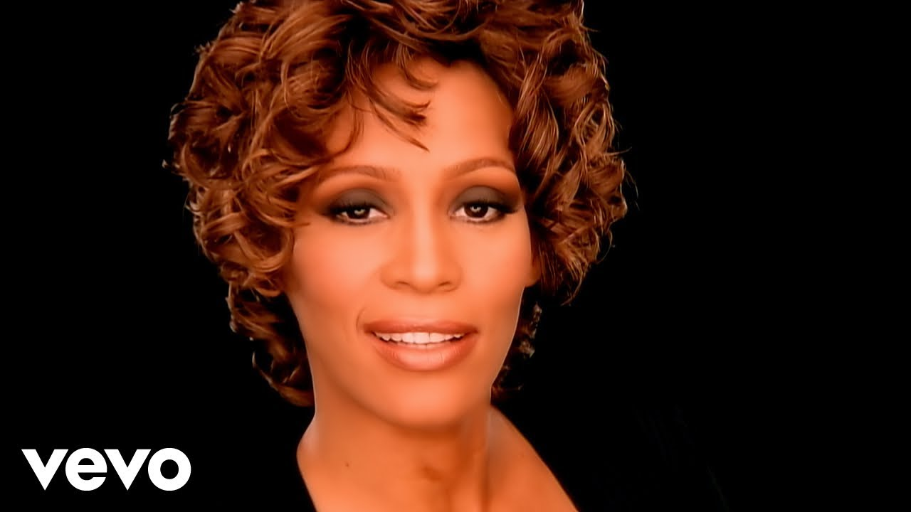Whitney Houston Step By Step Official Music Video Youtube