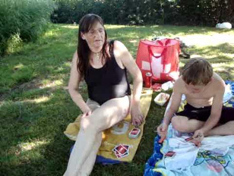 Schwimmbad im Sommer mit Karin und Sascha, so cool ! Ha