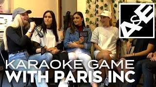 Karaoke Game with Paris Inc!