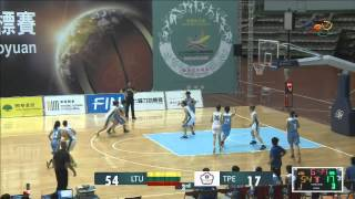 2015年桃園世界聽障籃球錦標賽 2015 World Deaf Basketball Championships WOMEN - 20150707 LTU vs. TPE