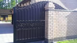 Откатные кованые ворота.тюмень(, 2016-06-21T17:01:45.000Z)