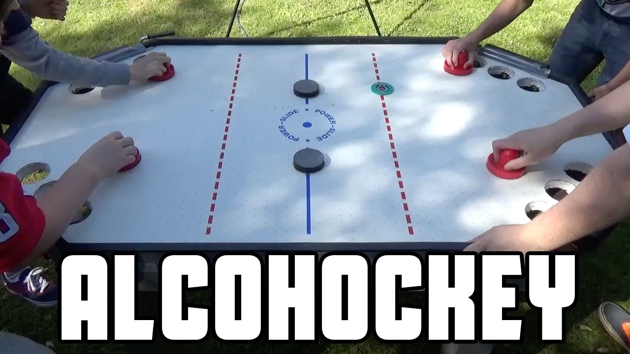 Alcohockey Canadian Beer Pong Wheresmychallenge Youtube