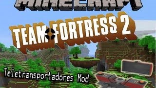 Minecraft Mods: TF2 Teleporters (1.2.5)