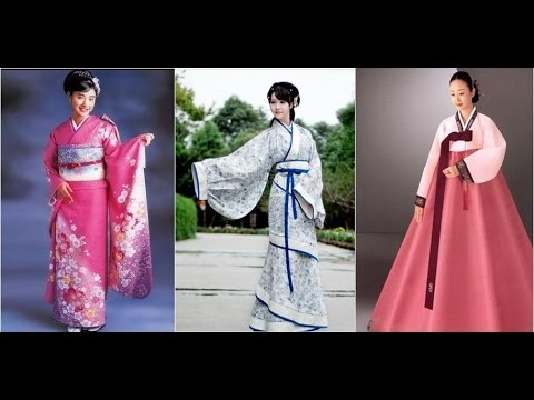 Historical Chinese Ethnic Costumes/Ancient Chinese Ethnic Clothing(Oriental Songs)中国少数民族服饰(民族歌曲)