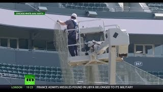 First MLB team extends safety net to foul pole