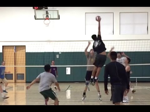 Open Gym Volleyball Highlights (Part 1/2) - 6/30/16
