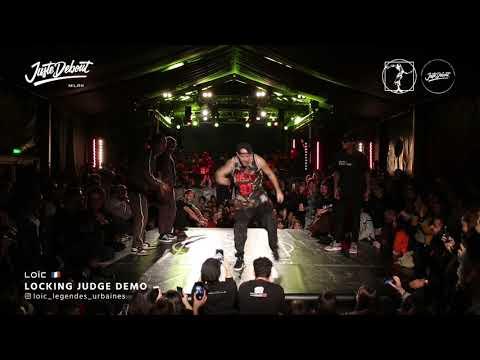 Lo�c - Judge demo Juste Debout Milan 2020