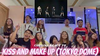 Download lagu COUSINS REACT TO BLACKPINK - KISS AND MAKE UP (DVD TOKYO DOME 2020)