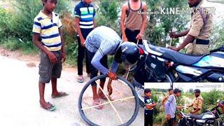 No petrol bike ka chalaan ||spoof|| by bps samunder