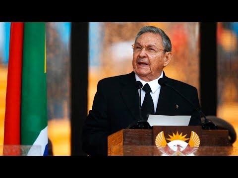 Cuban President Raúl Castro Speaks at...