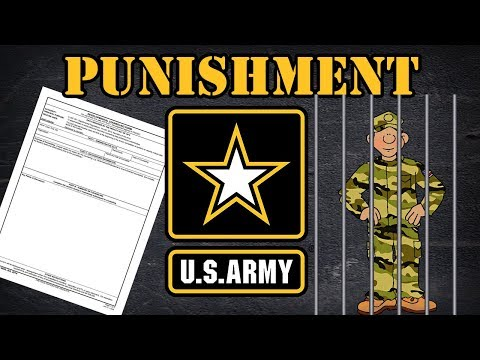 Punishment In The Army