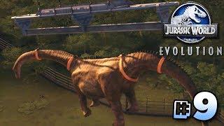 THE SICK SAUROPOD!!! - Jurassic World Evolution | Ep9