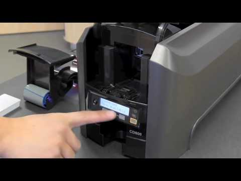 Entrust Datacard CD800 - Cleaning Your ID Card Printer
