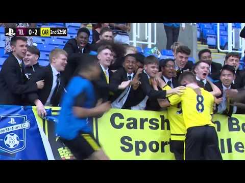 U15 Elite Schools' Cup   Thomas Telford School  v Carshalton Boys Sports College