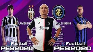JUVENTUS LEGENDS vs INTER LEGENDS PES2020 GAMEPLAY PS4 ITA