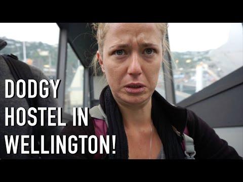 DODGY HOSTEL IN WELLINGTON, NEW ZEALAND!!