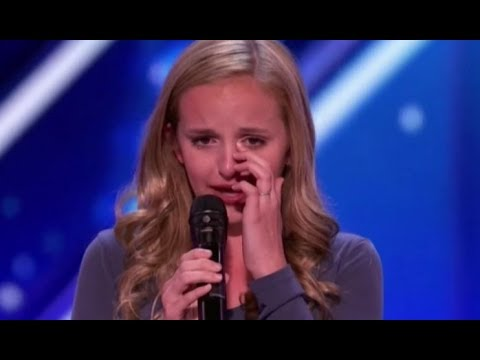 Evie Clair: Rising STAR Sings 'Arms' For Her Dad with Cancer   America's Got Talent 2017