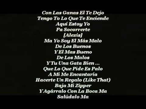 HP   Alexis & Fido Letra   YouTube