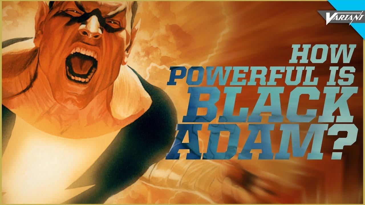 Download How Powerful Is Black Adam?