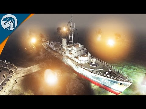 BOMBING BRITISH HARBOR | LRBM MOD | Men of War: Assault Squad 2 [MOD] Gameplay