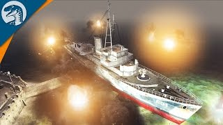 BOMBING BRITISH HARBOR | LRBM MOD | Men of War: Assault Squad 2 [MOD] Gameplay